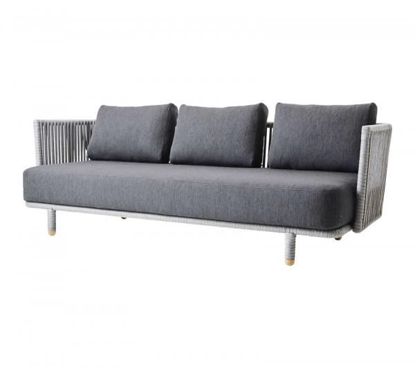 Cane-line Sofa 3-Sitzer Moments
