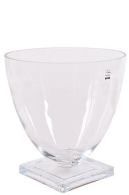 Vase, Glas, rund 20x20cm