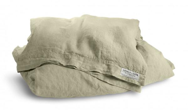 Bettbezug 135 x 200 cm 100% Leinen Misty Farbe Harmony