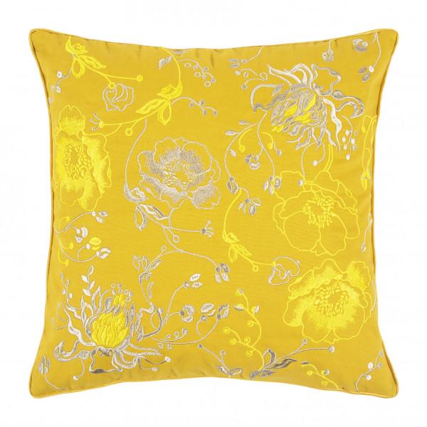 Kissenbezug Mimosa gelb 45x45cm