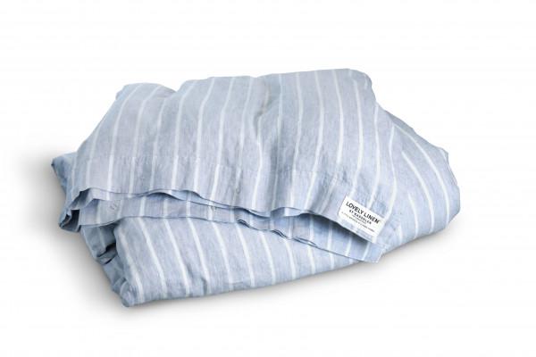 Bettbezug 135 x 200 cm Misty Farbe sky stripe