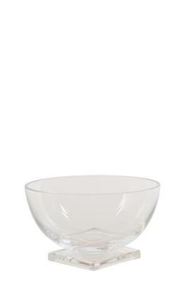 Schale, Glas, mundgeblasen, rund