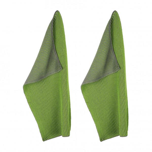 pad Twist Geschirrtücher 2er Pack grün