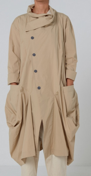 Mantel Guaraja Farbe Safari