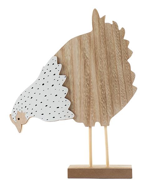 Holzhuhn H ca. 26 cm